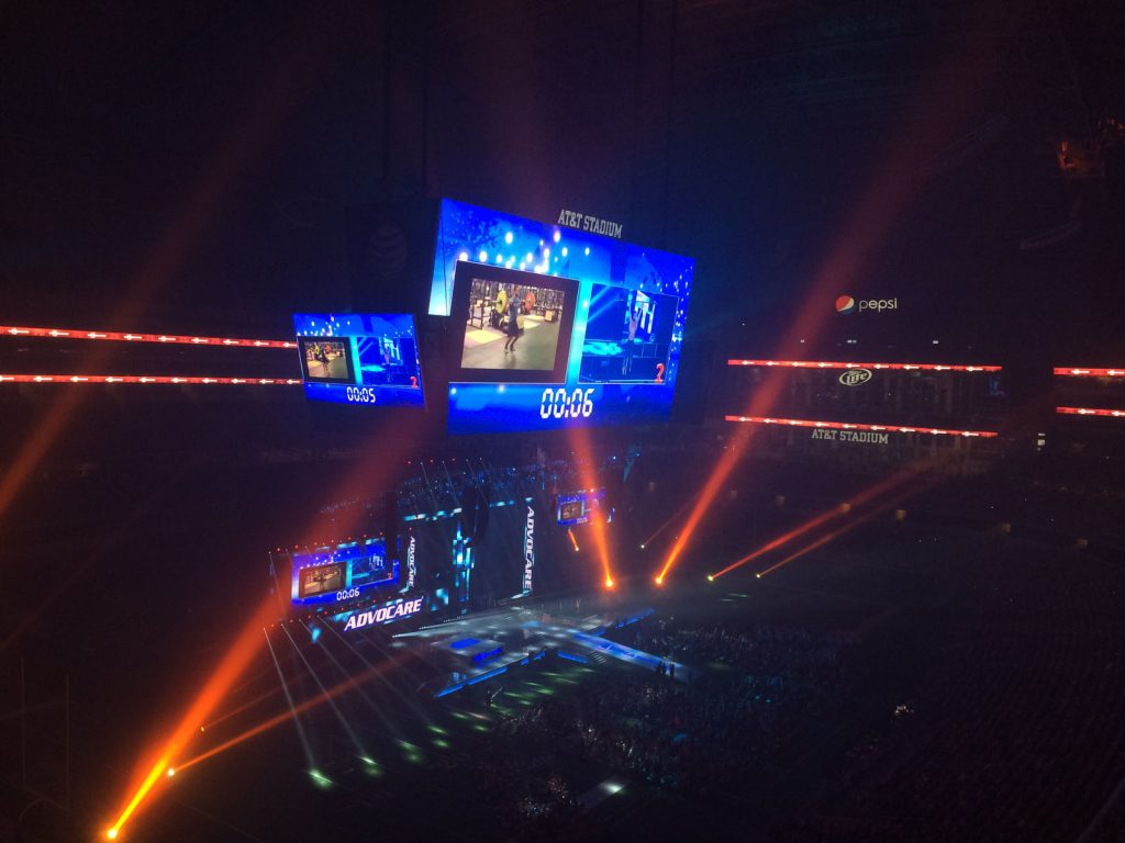 AdvoCare AT&T Stadium Event Production
