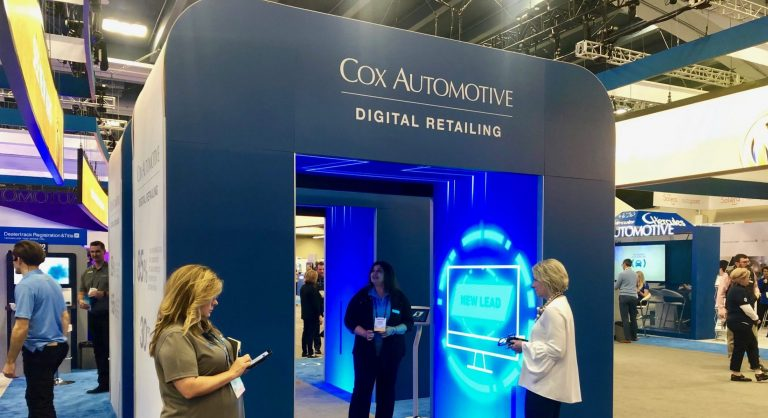 Interactive Exhibit at Cox Automotive NADA Expo