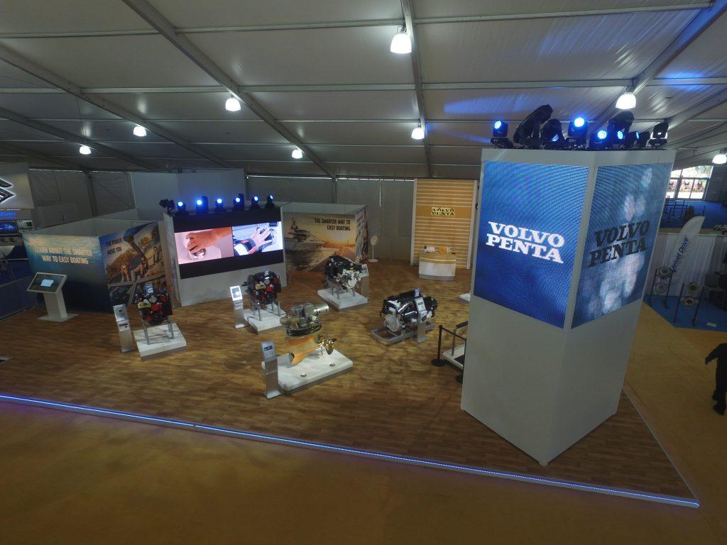 Volvo Penta Exhibit at the Miami Boat Show